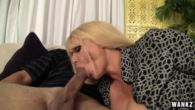 Super Buxom Blonde Milf Karen Fisher Rides Big Cock Like Celebgate 1